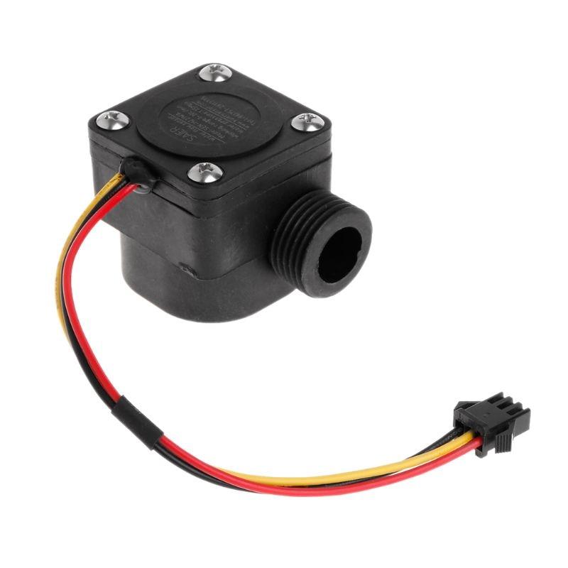 "G1/2"" 1-30L/min DC5V Water Flow Sensor Flowmeter Hall Flow Sensor Switch Arduino"