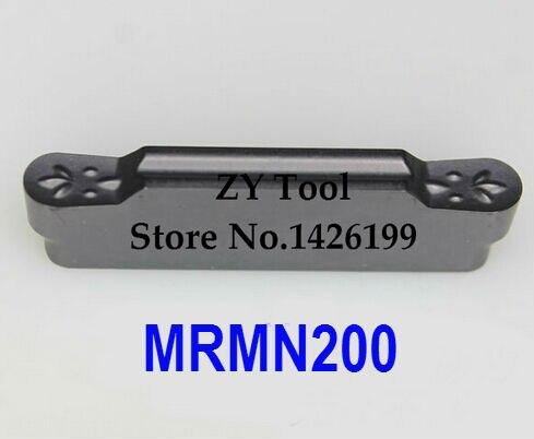 10 Uds. MRMN200 arco Circular carburo torneado inserción, outlet de fábrica, inserción de corte, cnc, para ranurado titular MGEHR & MGIVR & MGEVR