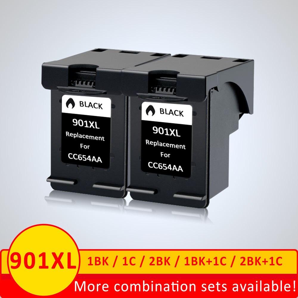 XiangYu 901 rellenar reemplazo de cartucho de tinta para HP 901 XL 901XL para HP Officejet 4500 J4500 J4540 J4550 J4580 J4640 J4680c