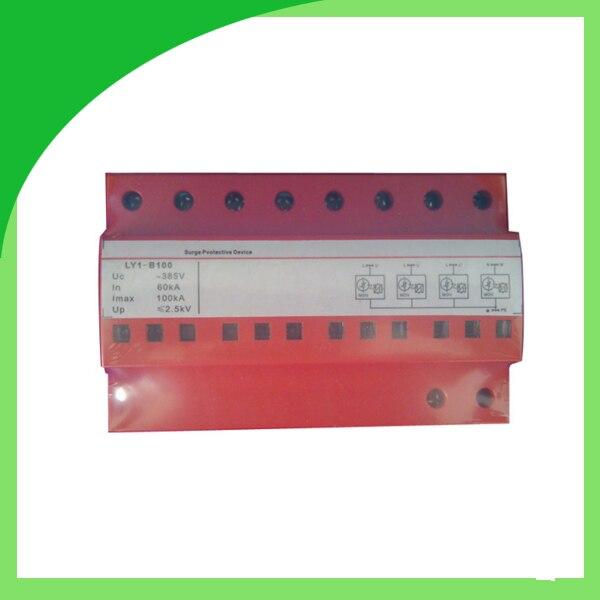 Ly9-60 385V 60ka 4 polos fusible tipo protección contra sobretensiones antena pararrayos