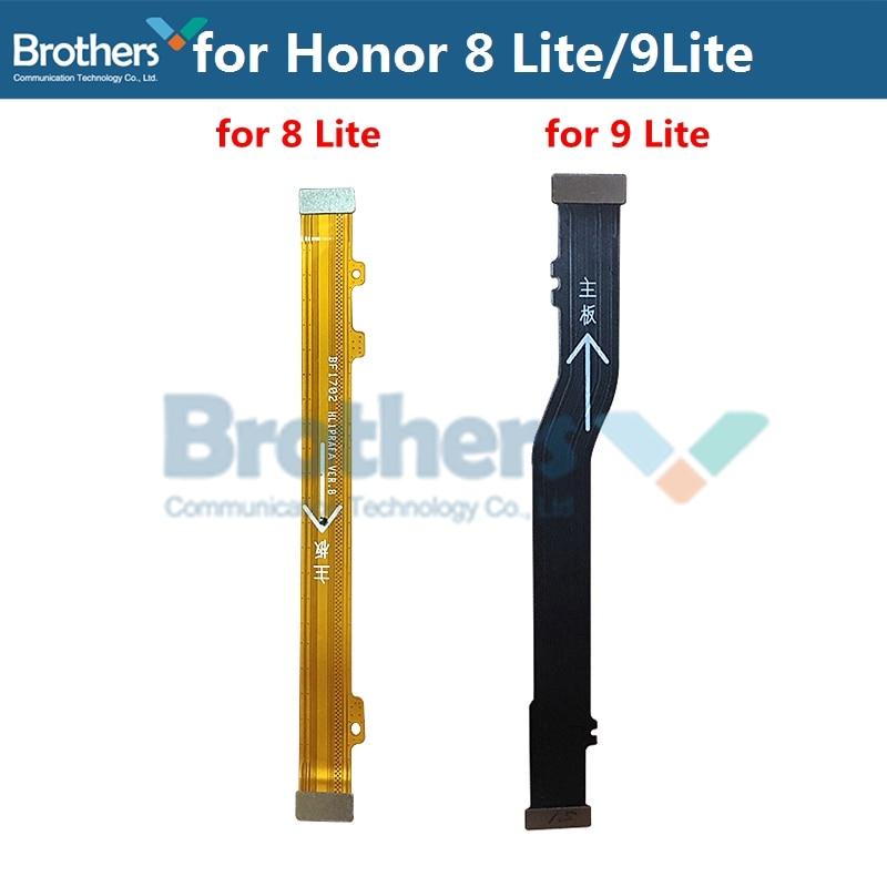 Motherboard Cabo Flex Flex para Huawei Honor 8 9 Lite Lite Mainboard Flex Cable Fita para Honra 9 Lite Contato LCD Relacement