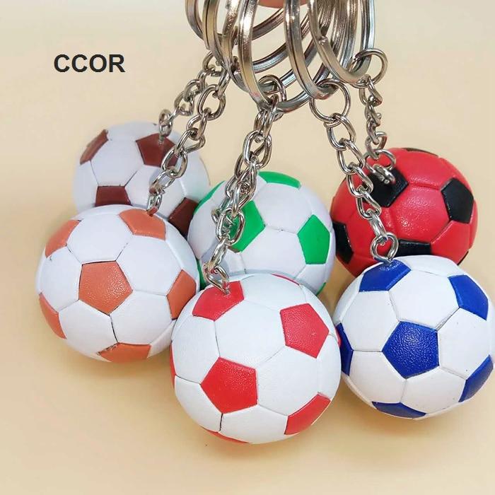 Envío Gratis, artículos deportivos, llaveros, 40MM de diámetro. Gran fútbol clave cadena lindo llaveros con pelota de accesorios regalo