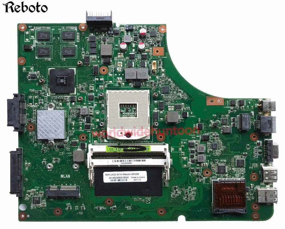 Clase de la placa base para ASUS K53SD conjunto de chips portátil HM65 gráficos GT610M 2GB PN K53SD Tablero Principal REV 5,1 PGA989 DDR3 totalmente