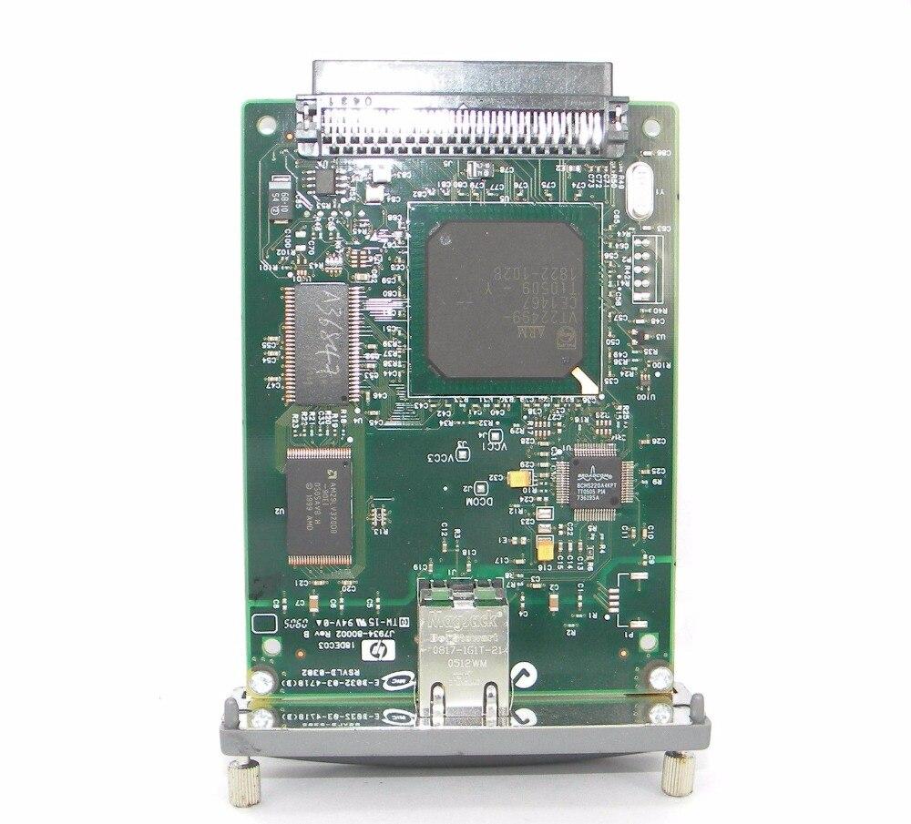 Tarjeta de red para tarjeta de servidor 620N JETDIRECT J7934A 10/100tx, Envío Gratis para piezas de impresora láser hp