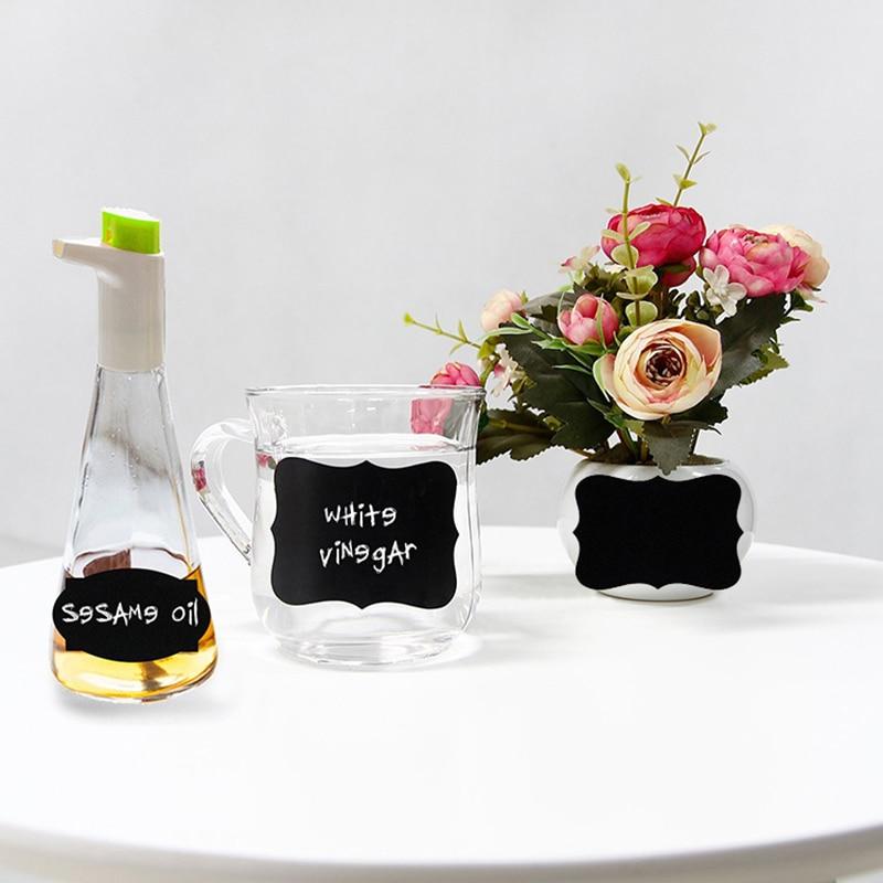 5000 PCs/Set Waterproof Chalkboard Kitchen Spice Label Stickers Home Jam Jar Bottle Tags Blackboard Labels Stickers набор jam jar серебристый