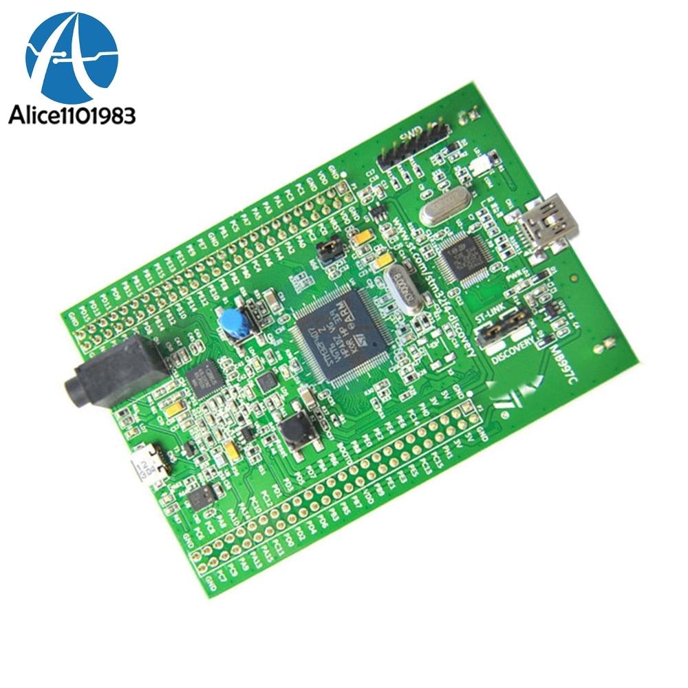 Hohe Qualität Entdeckung Stm32f4 Stm32f407 Cortex-m4 Entwicklung Modul Bord st-link V2 Diy Kit Elektronische PCB Board Modul