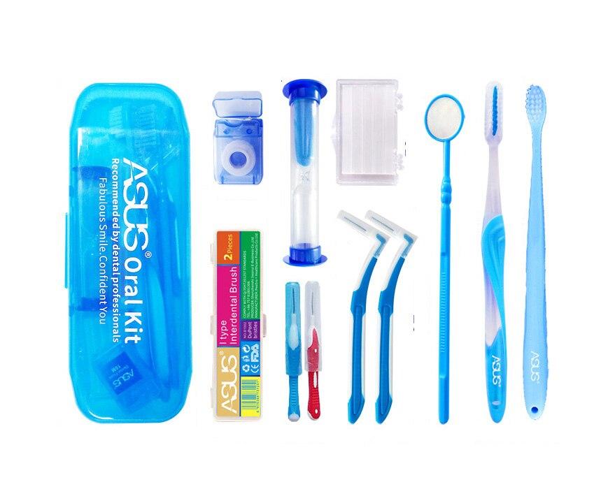 Зубная щётка для чистки межзубных пространств, стоматологическая Брекеты кронштейны Уход за полостью рта, чистка зубов гигиенический комп...