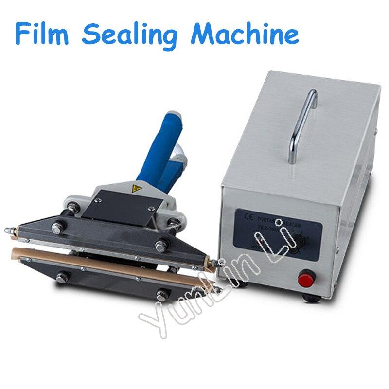 110V/220V اليد المشبك نوع ختم آلة 450W فيلم الختم آلة التدفئة لحظية كابر FKR-200A