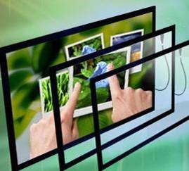 """42 """"Industrial Panel de pantalla múltiple táctil/IR MARCO DE PANTALLA TÁCTIL/USB Multitouch Panel Kit con 4 puntos"""
