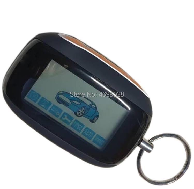 B92 LCD Remote Control Keychain For Two Way Car Alarm System StarLine B92 LCD Remote Control Key
