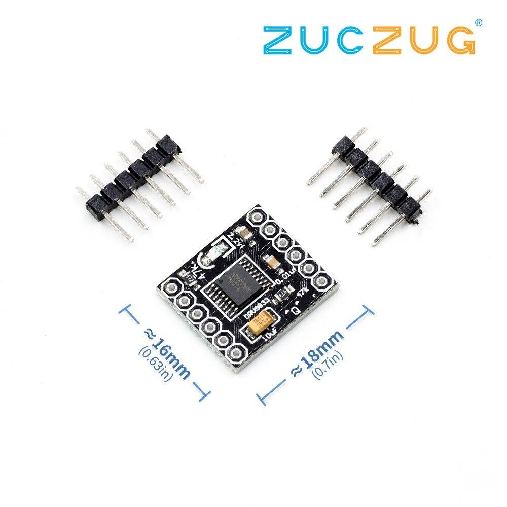 DRV8833 2 canal DC módulo controlador de Motor Junta 1.5A 3V-10V