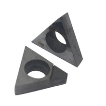 TBGT060102 2pcs blade for cutting high hardness materials use boring bar cnc machine PCD polycrystalline diamond material