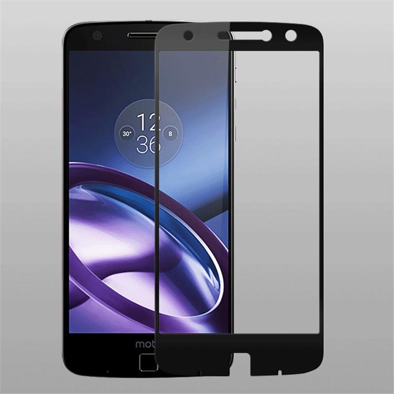 for Motorola Moto Z XT1650-05 Full Cover Tempered Glass Screen Protector For Moto Z Droid edition full Coverage glass Film