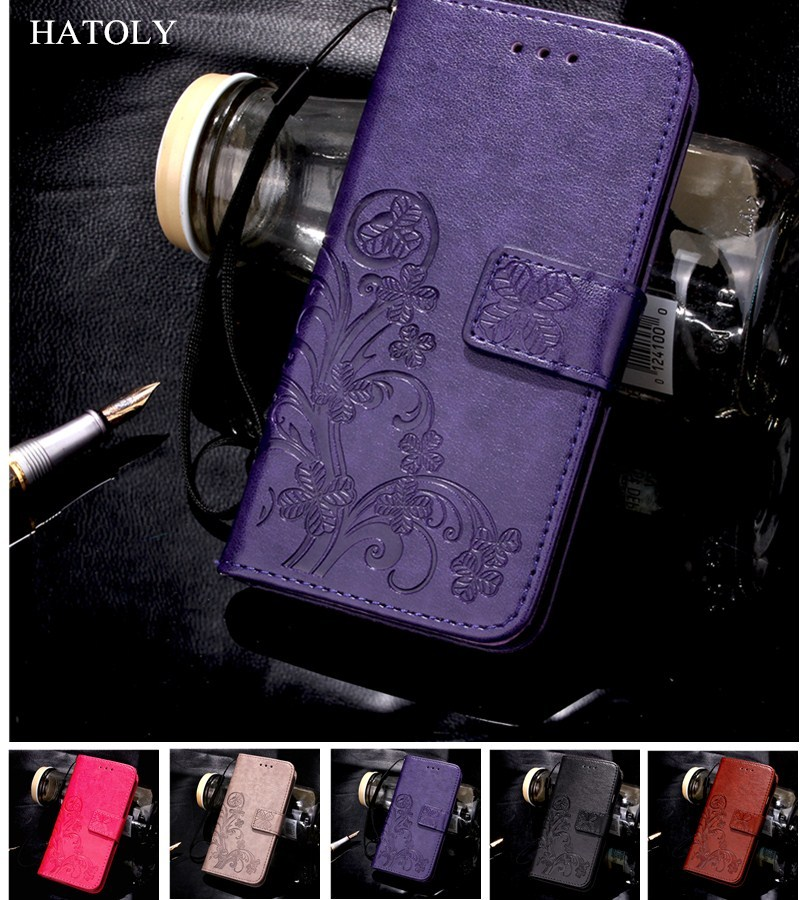 HATOLY para estuche Blackberry KEYone funda de mercurio Flip piel PU y TPU funda con cubierta para Blackberry KEYone mercurio DTEK70 Fundas