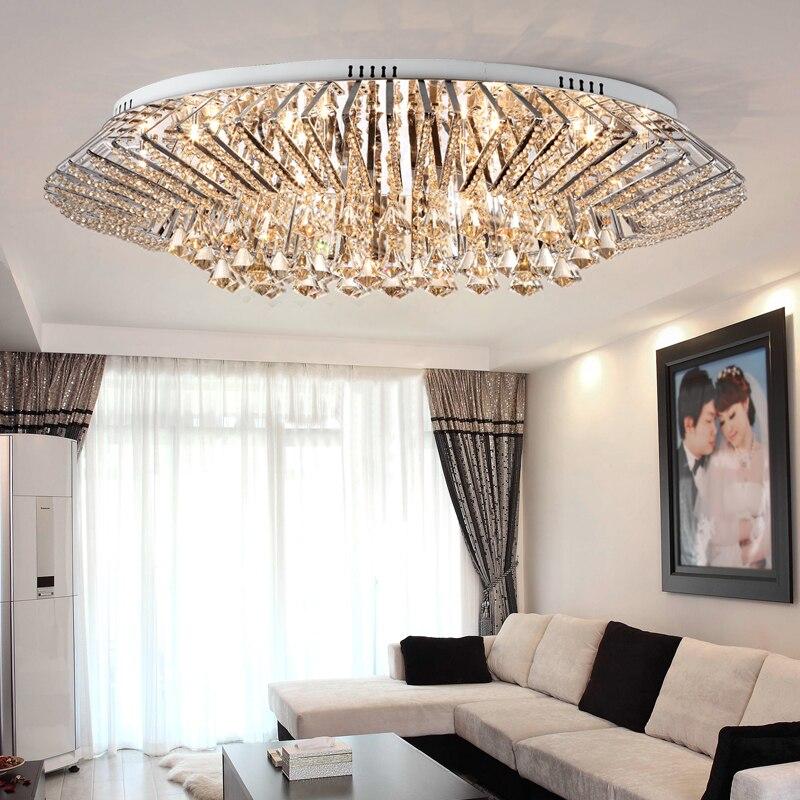 مصابيح LED مستديرة مصباح تركيبات مصابيح السقف الكلاسيكية السقف الإضاءة غرفة نوم غرفة المعيشة Plafonnier الفولاذ المقاوم للصدأ lmvillage دي تيكو