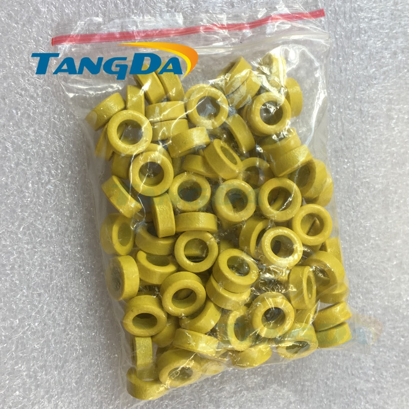 Tangda 10 6 5 معزول الأصفر الفريت الأساسية الخرزة 10*6*5 ملليمتر تدخل المغناطيسي لفائف الحث مكافحة مرشح للتدخل.