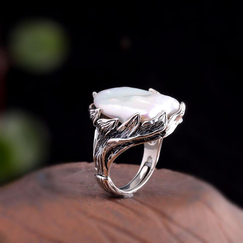 شخصية الفضة S925 الفضة النقية مجوهرات الحرف اليدوية الحرفية الرائعة