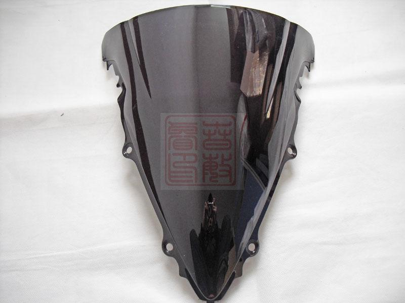 Parabrisas negro para motocicleta Yamaha YZF R6 2003 2004 2005 03 04 05 ABS