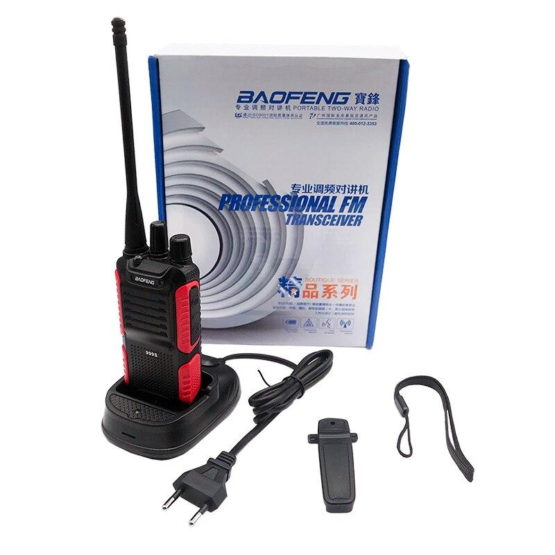 2PCS Baofeng BF-999S PLUS BF 999S Walkie Talkie 5W UHF Amateur Ham CB Radio Station Amador FM VOX HF Transceiver Updated BF-888S enlarge
