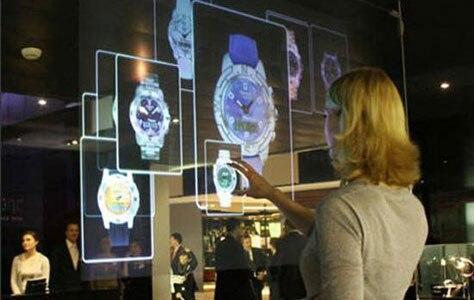 شاشة عرض ثلاثية الأبعاد شفافة, مقاس 17 بوصة ، ثلاثية الأبعاد ، توريد مصنع للإعلان