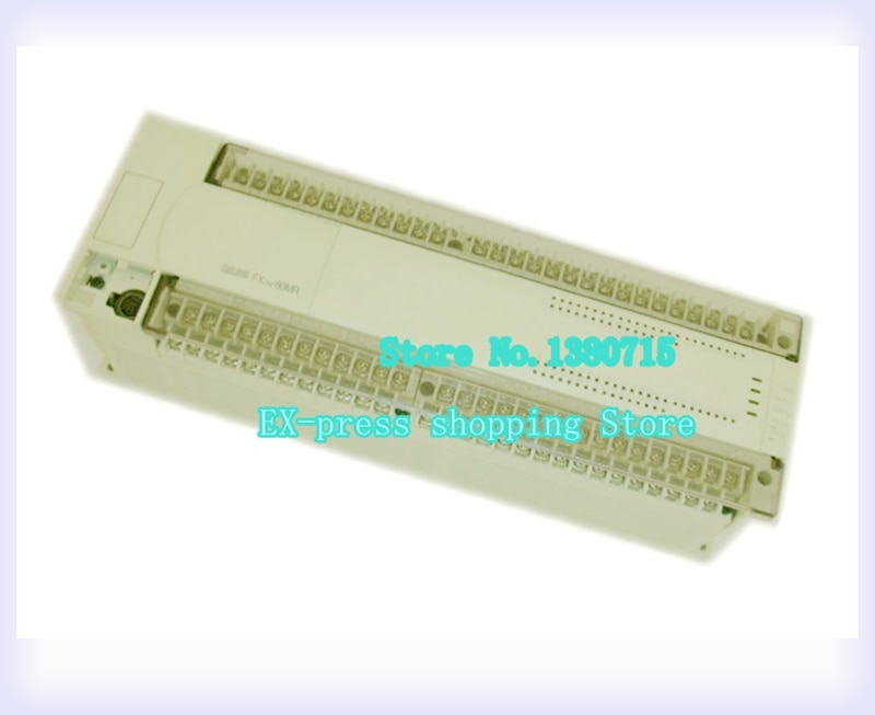 FX2N-80MR-001 جديد PLC الوحدة الرئيسية DI 40 DO 24 التتابع التيار المتناوب 220 فولت