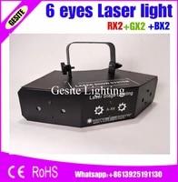 6 eyes laster light stage light wedding disco dance halls bars ktv family party rgb laser professional