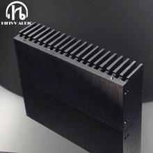Hifivv аудио кулер diy алюминиевый радиатор решетка форма Радиатор чип 155*67*40 мм IC Мощность транзистор
