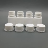 free shipping 120pcslot 20cc 20ml hdpe white empty plastic pill bottles pharmaceutical bottle container with tamper proof cap