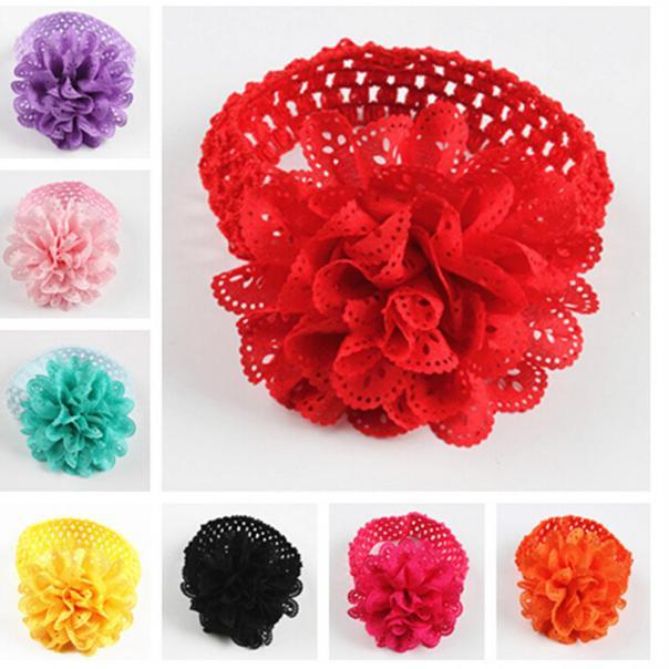 headbands baby girls hair accessories Flower Hollow Out Headband Dress Up Head band for Accessory Hair Bands baby headband flowe