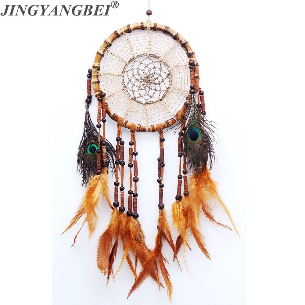 Decoración de corona con plumas, decoración de estilo indio