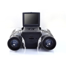 Telescopio Digital de alta definición 12x32 de 2,0 pulgadas, pantalla ltps, Full HD, USB 2,0, interfaz multifunción, vídeo, grabación de fotos