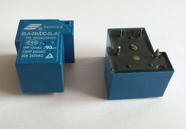 5 uds SLA-05VDC-SL-A SLA-12VDC-SL-A SLA-24VDC-SL-A SLA-48VDC-SL-A de componentes