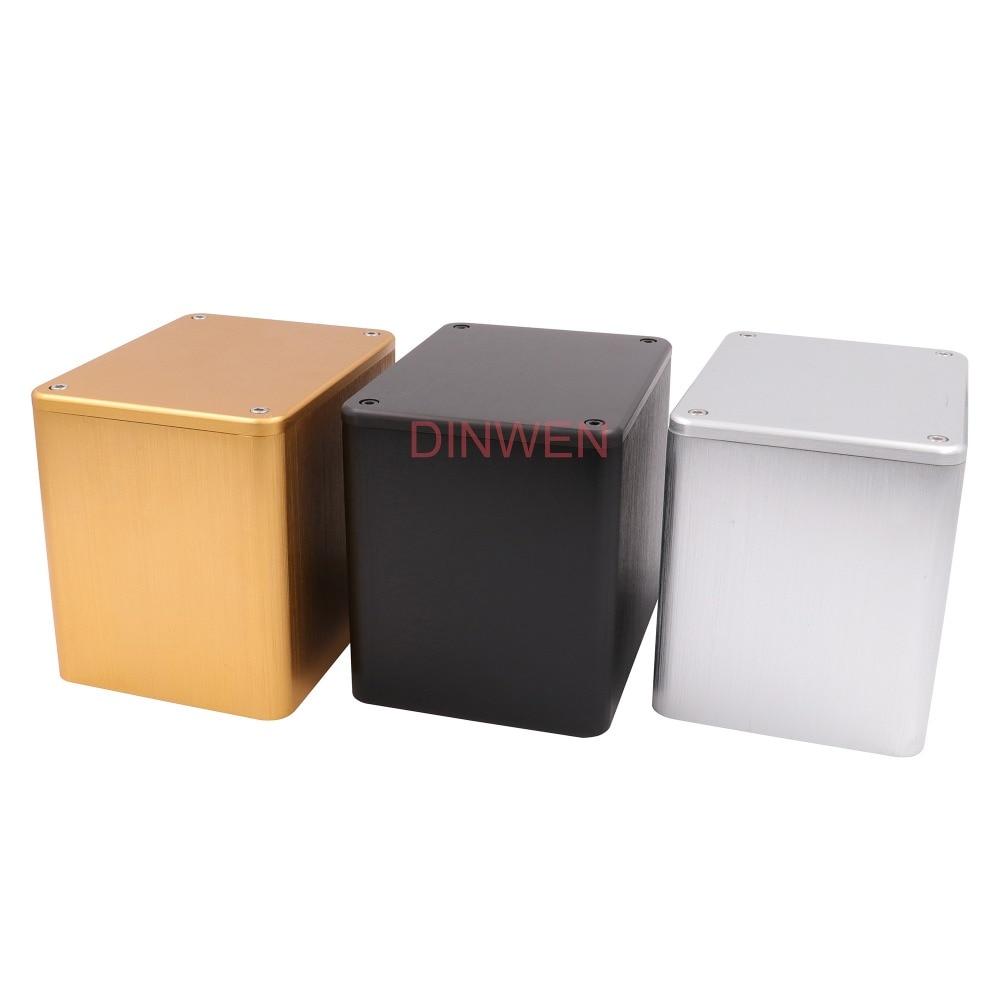 Алюминиевый триодный трансформатор 130*100*116 мм, 1 шт., защитный чехол, коробка корпуса для Hi-Fi аудио, винтажный трубный усилитель, сделай сам