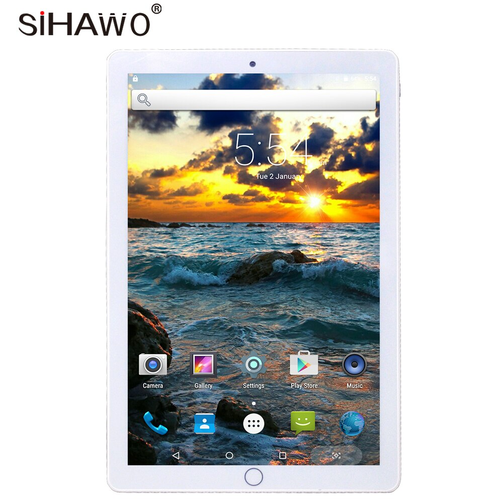 New 10 inch Dual SIM Phone Call Android7.0 MTK Octa Core 2G+32G Tablet PC WiFi Bluetooth4.2 GPS 1920x1080P IPS Original Design