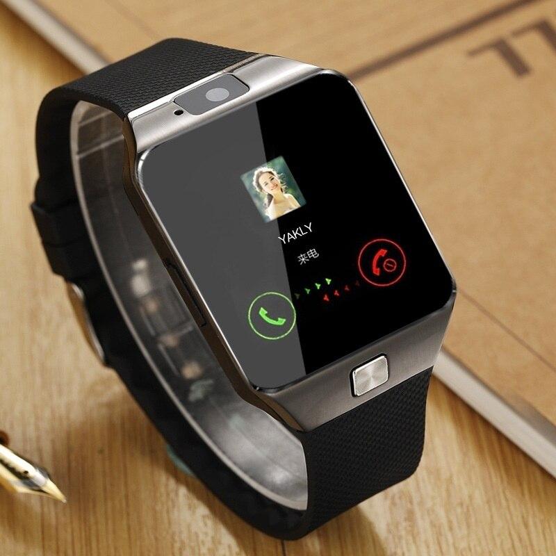 Inteligente Relógio Para Homens DZ09 Smartwatch Bluetooth Conectar Relógio dos homens Relógio Reloj Smartwatch Android Phone Call SIM Card TF intelige