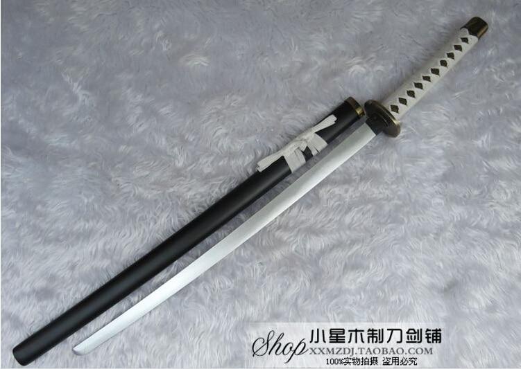 Touken Ranbu en Akashi Kuniyuki katana de madera 100CM Cosplay accesorio espada samurái