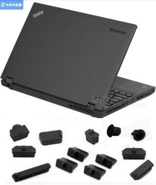 Laptop Waterproof Dustproof Black Silicone plug port cover guard For Lenovo Thinkpad X240 X230 X240S X250