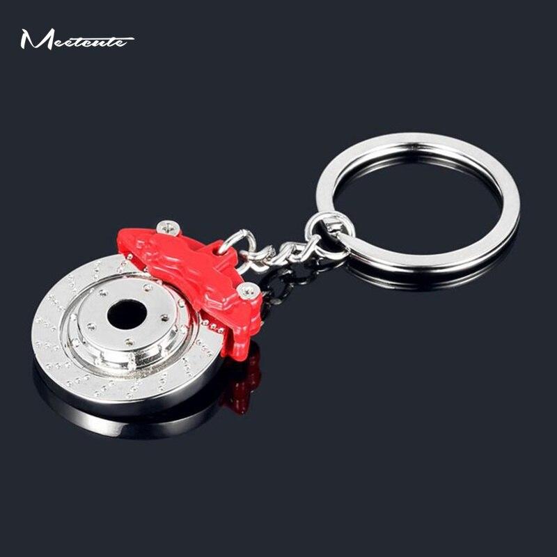 Meetcute 5 шт оптом металлические автозапчасти; диск тормозной брелок суппорт брелок для автомобиля подвеска брелок для мужчин подарок безделу...