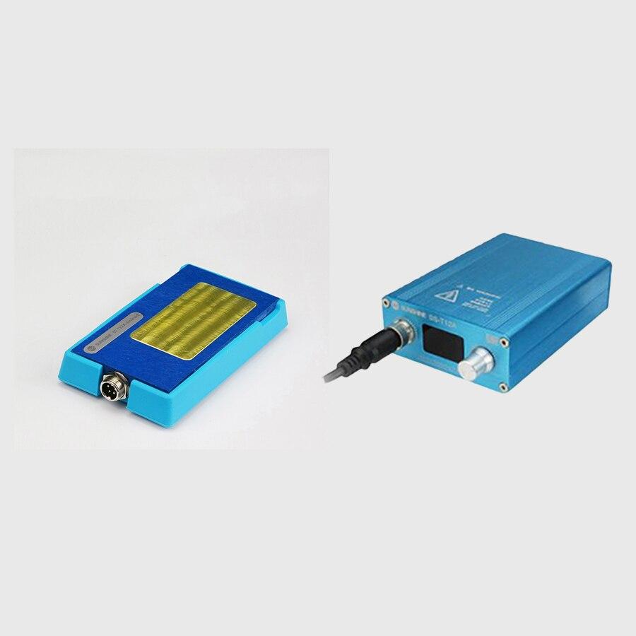 SS-T12A para iPhone X placa base estratificados de tabla calefacción 185 grados precisa rápida separación desmontaje plataforma