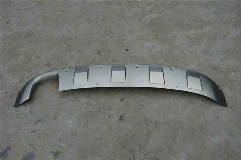 Plaque de protection des pare-chocs arrière de voiture   En acier inoxydable de haute qualité, convient pour Audi A3 A3 hayon 2014 2015 2016