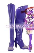 KiraKira jolie Cure A La Mode Cure Macaron Kotozume Yukari Cosplay chaussures Cosplay Costume Anime fête chaussures bottes sur mesure