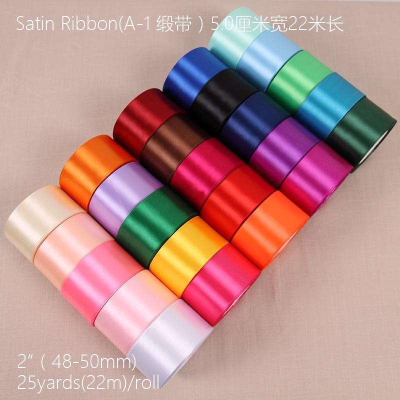 6mm 10mm 15mm 20mm 25mm 38mm 50mm blanco rosa negro rojo verde púrpura amarillo marrón Navidad boda decoración de satén cintas