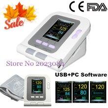 CONTEC CONTEC08A CE & FDA numérique bras tensiomètre adulte brassard + logiciel PC livraison gratuite