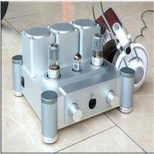 6SN7X2 + ECC83 HD650 corps en aluminium/ampli/préamplificateur