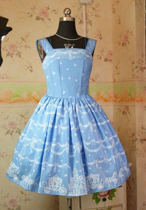 Lolita vestido chica fiesta dulce princesa vestido PRIMAVERA/otoño elegante vestido Navidad Cosplay disfraz S M amarillo/negro /azul cielo