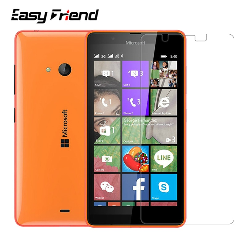 For Nokia Microsoft Lumia 540 Screen Protector 9H Toughened Protective Film Guard Premium Tempered G