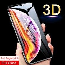 3D Kavisli Kenar Koruyucu Cam iPhone 10 X S Xs Max Temperli Cam Ekran Koruyucu Film apple ix xs s Max Durumda