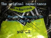 5 stücke/10 stücke/20 stücke Superkondensator Original Rubycon Yxf Rubin Kapazität 100v 100uf Hohe Frequenz kondensator 100uf 100v 12,5 X20