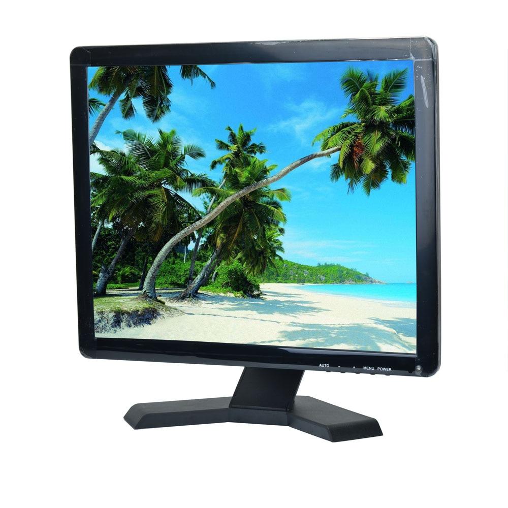 "17 ""polegada TFT-CCTV Tela LCD 43 Monitor LCD BNC/VGA/AV/Entrada HDMI com suporte para HDMI Microscópio Câmera PC"
