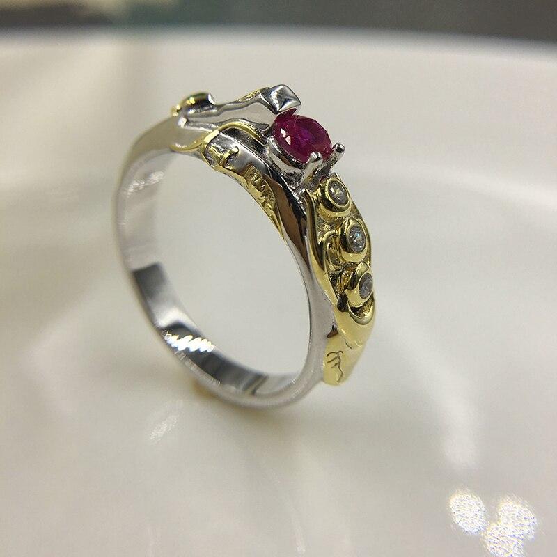 LoL juego, tema de joyería, anillo Khada Jhin S925, anillo de plata esterlina, letra personalizada gratis